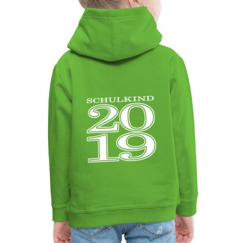 Schulkind 2019 - Kinder Premium Hoodie