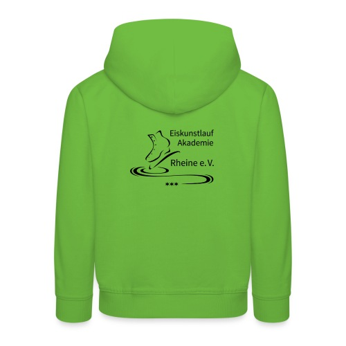 EARheine Logo schwarz - Kinder Premium Hoodie