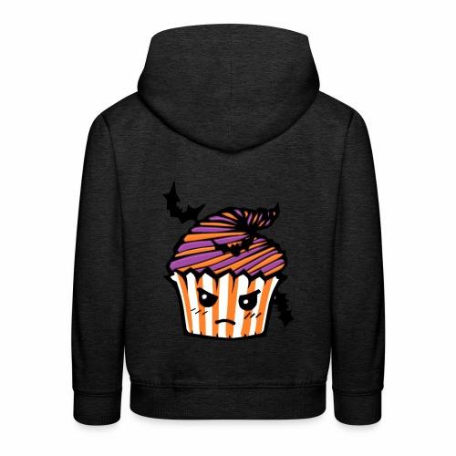 cupcake Halloween - Sudadera con capucha premium niño