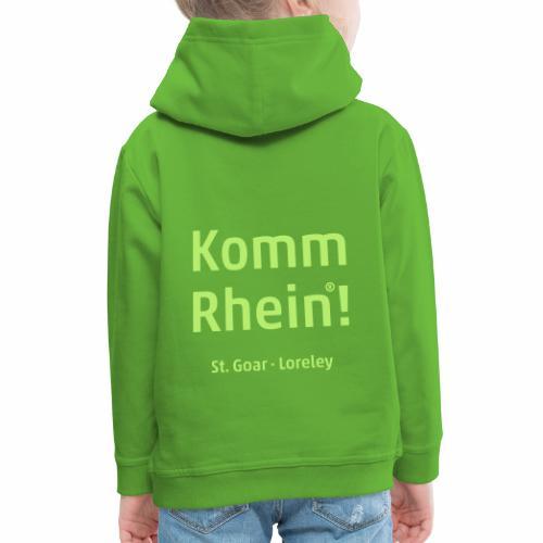 Komm Rhein! St. Goar · Loreley - Kinder Premium Hoodie