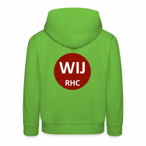 WIJ RHC - Kinderen trui Premium met capuchon
