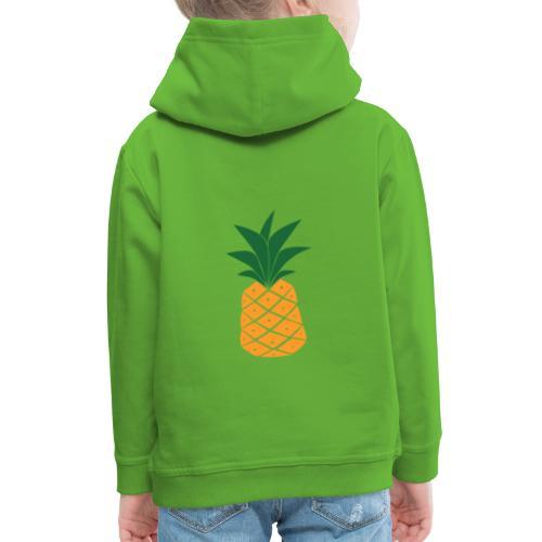 One piece of Pineapple - Premium hættetrøje til børn