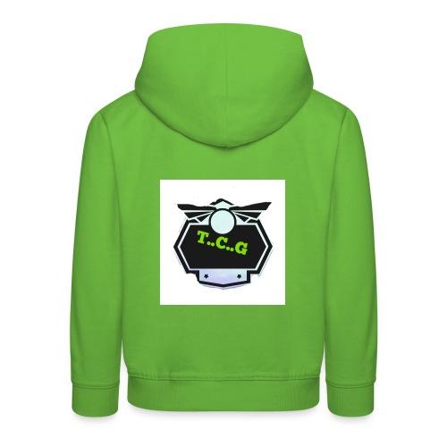Cool gamer logo - Kids' Premium Hoodie
