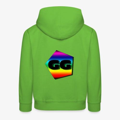 Rainbow GG - Premium Barne-hettegenser