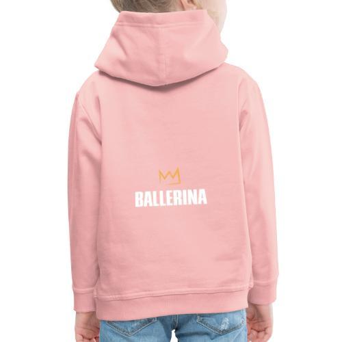 Ballerina - Kinder Premium Hoodie