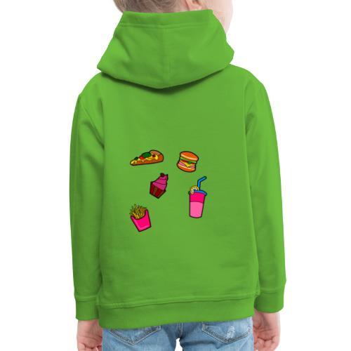 Fast Food Design - Kinder Premium Hoodie