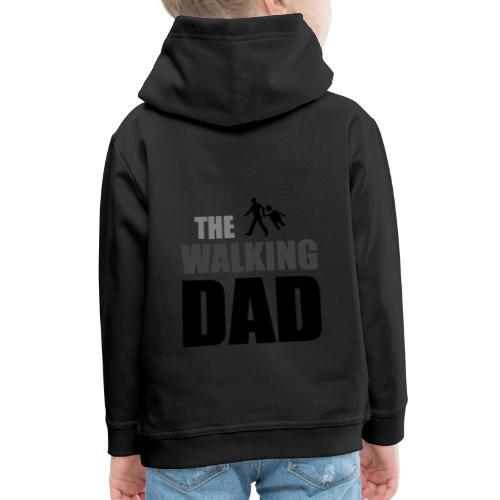 the walking dad auf dem Weg in die lustige Bar - Kinder Premium Hoodie