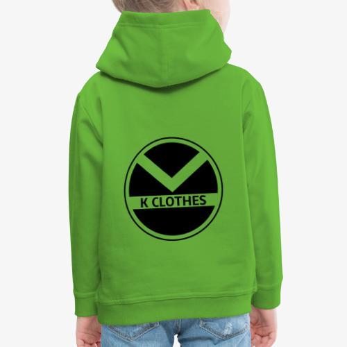 |K·CLOTHES| ORIGINAL SERIES - Sudadera con capucha premium niño