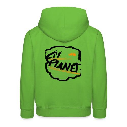 Lil Planet Black Badge Shirt - Kids' Premium Hoodie
