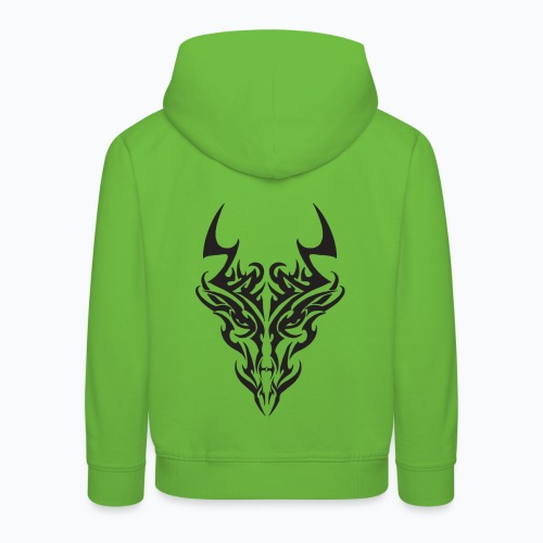 tribal dragon - Pull à capuche Premium Enfant
