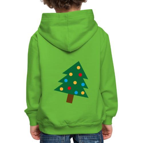 Weihnachtsbaum für hässliche Weihnachten - Kinder Premium Hoodie