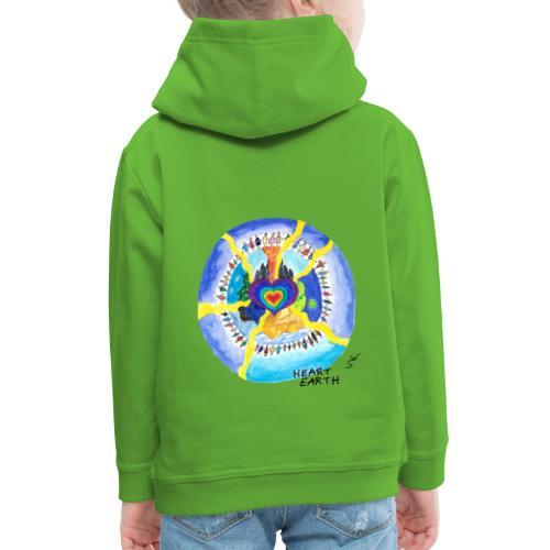 HEART EARTH - Kinder Premium Hoodie