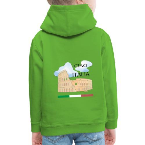 hello italy T-Shirts - Kids' Premium Hoodie