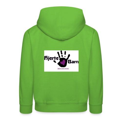 logo 5 jpg - Premium hættetrøje til børn