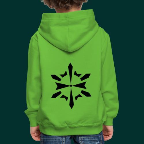 Simbolo Esoterico - Felpa con cappuccio Premium per bambini