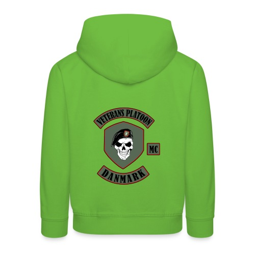 Veterans Platoon - Premium hættetrøje til børn