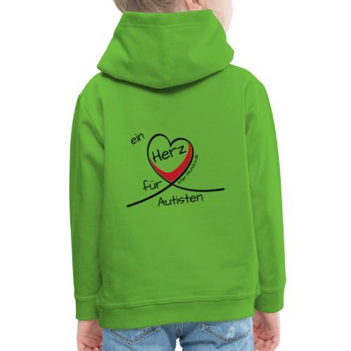 Ein Herz für Autisten - Kinder Premium Hoodie