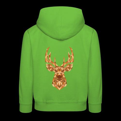 Deer-ish - Bluza dziecięca z kapturem Premium