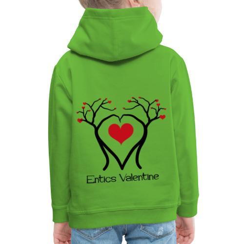 Saint Valentin des Ents - Pull à capuche Premium Enfant