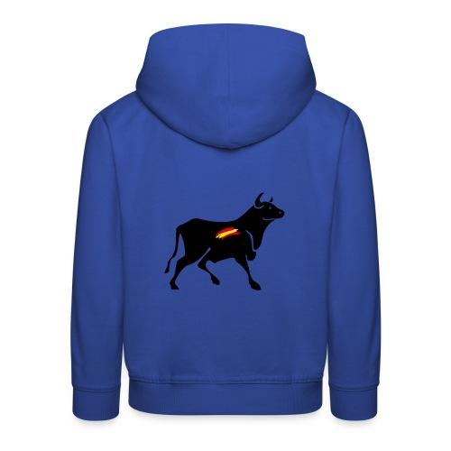 toro español - Sudadera con capucha premium niño