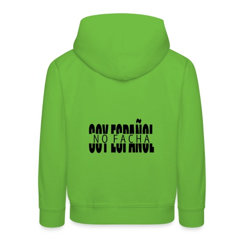 soy español no facha patriots - Sudadera con capucha premium niño