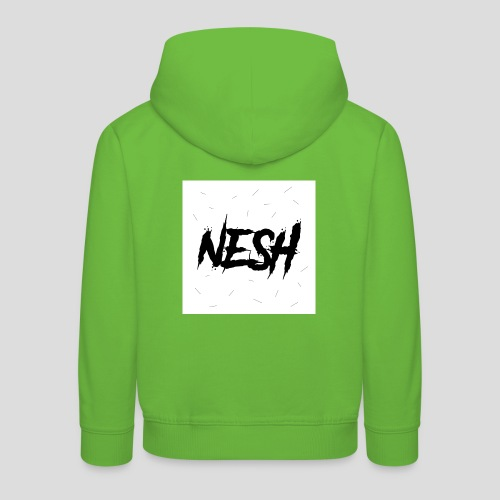 Nesh Logo - Kinder Premium Hoodie