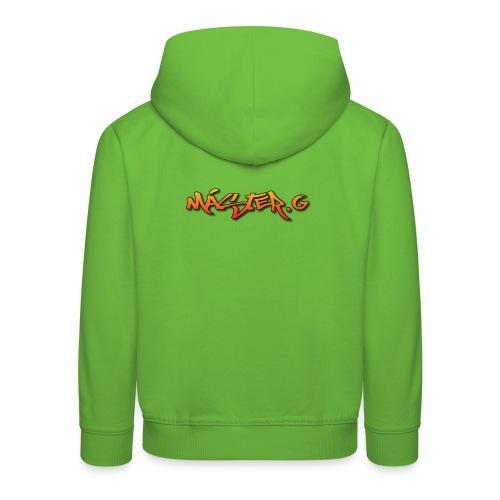 Streetwear - Sudadera con capucha premium niño