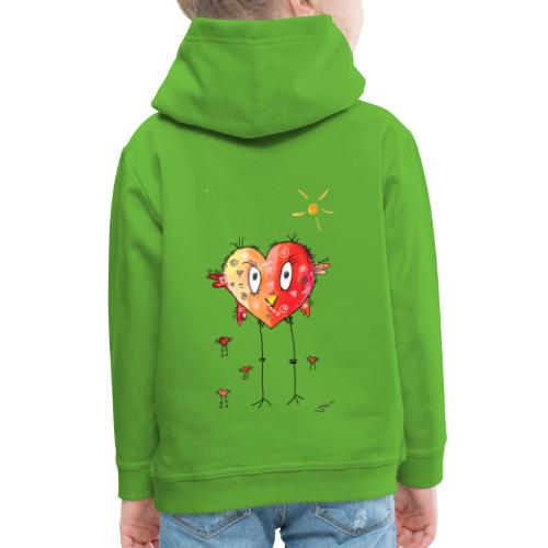 Happy heart - Kinder Premium Hoodie
