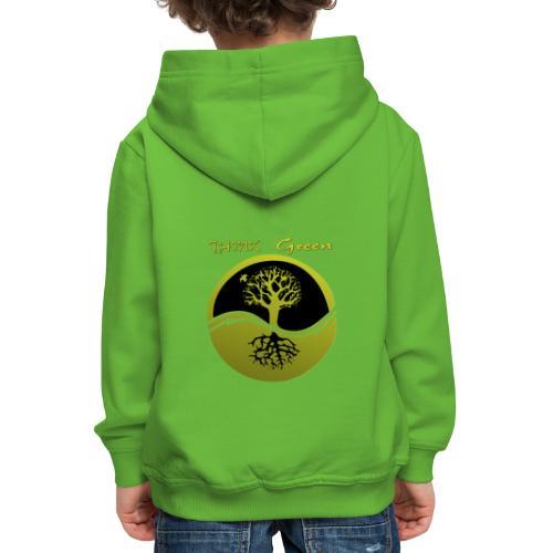 Think green - Sudadera con capucha premium niño