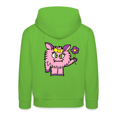 Süsses Monster von roadtripgirl.ch - Kinder Premium Hoodie
