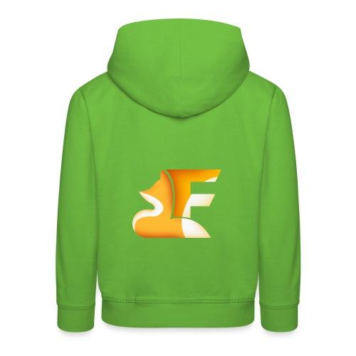 FoxChannel LOGO - Felpa con cappuccio Premium per bambini