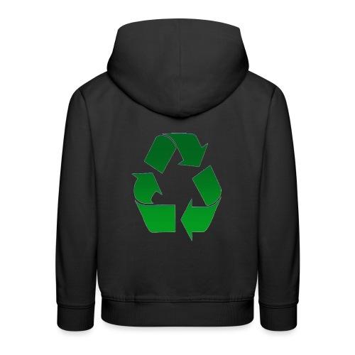 Recyclage - Pull à capuche Premium Enfant