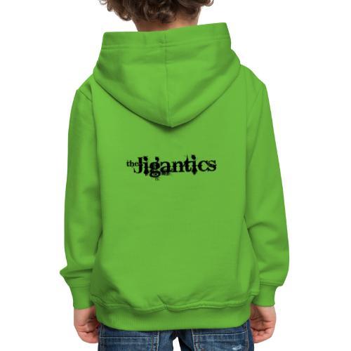 The Jigantics - black logo - Kids' Premium Hoodie
