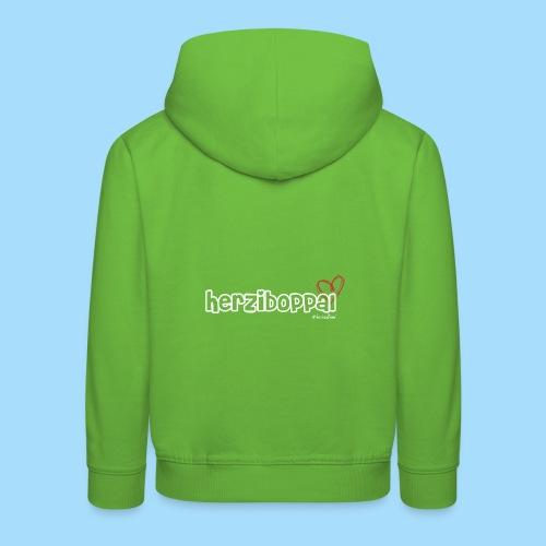 Herziboppal - Kinder Premium Hoodie