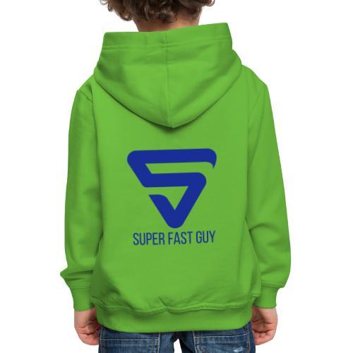 Super Fast Guy - Pull à capuche Premium Enfant