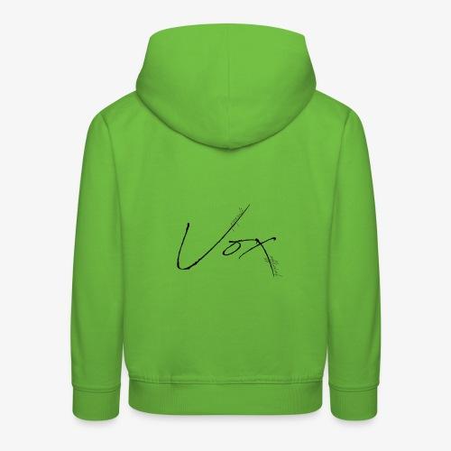 Logo Vox Paint - Felpa con cappuccio Premium per bambini