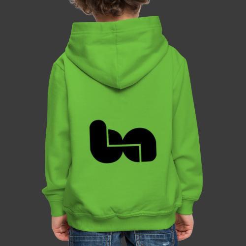 logo berciniauto - Felpa con cappuccio Premium per bambini