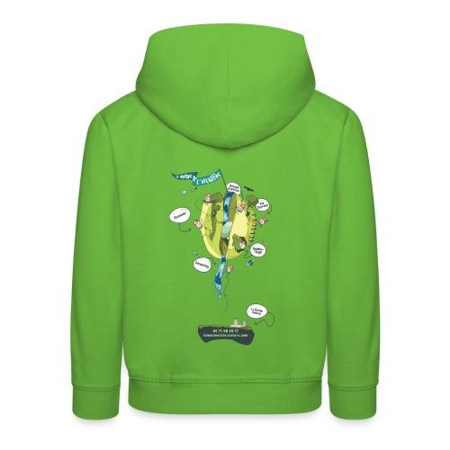 T-shirt Maison de L'aventure - Pull à capuche Premium Enfant