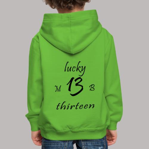 lucky 13 MB - Kids' Premium Hoodie
