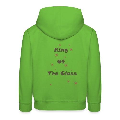 king of the class - Pull à capuche Premium Enfant