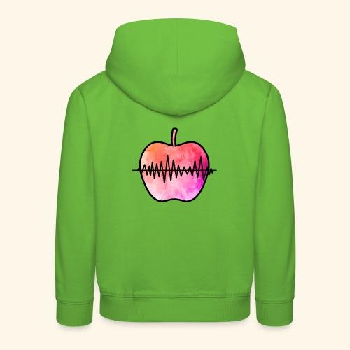 AppleJazzDK Logo - Premium hættetrøje til børn