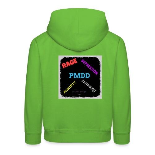Pmdd symptoms - Kids' Premium Hoodie