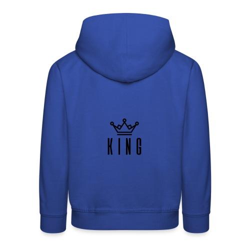 King T-Shirt - Kinderen trui Premium met capuchon