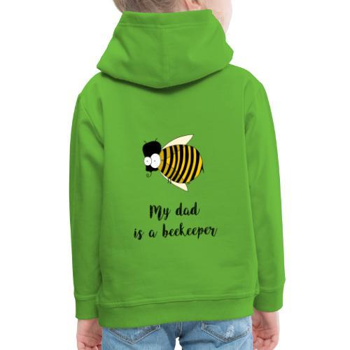 Mio padre è un apicoltore - Felpa con cappuccio Premium per bambini
