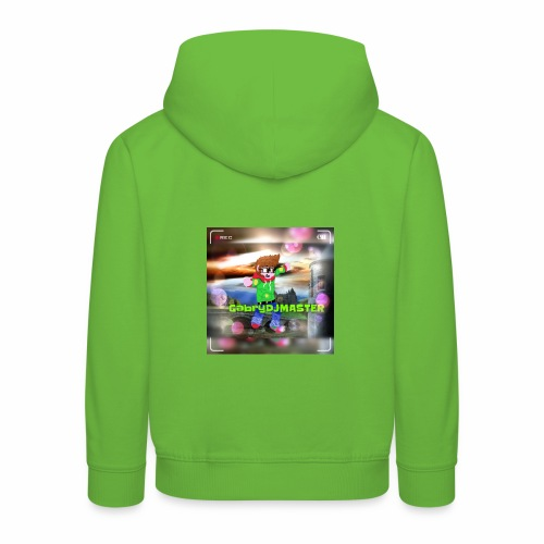 Il mio personaggio - Felpa con cappuccio Premium per bambini