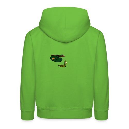 Sloth + Llama - Kids' Premium Hoodie