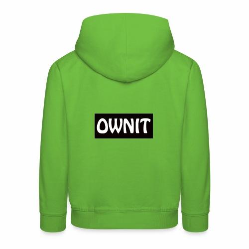 OWNIT logo - Kids' Premium Hoodie