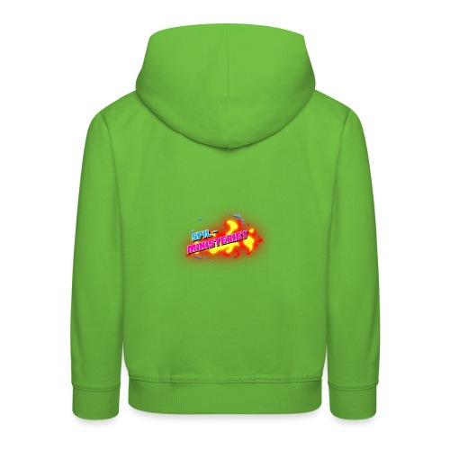 Spilministeriet - Premium hættetrøje til børn