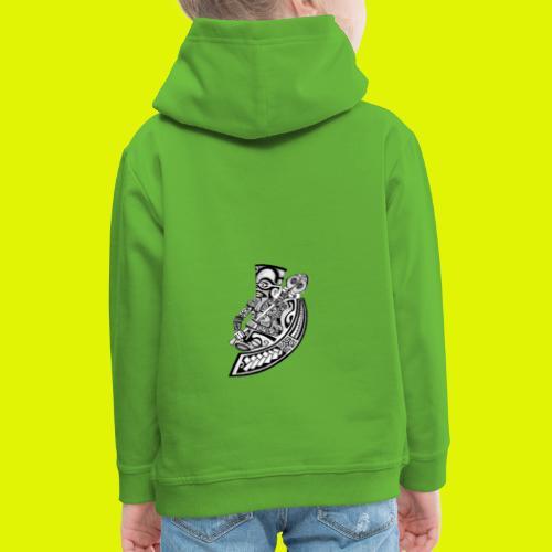 new brand warrior - Felpa con cappuccio Premium per bambini