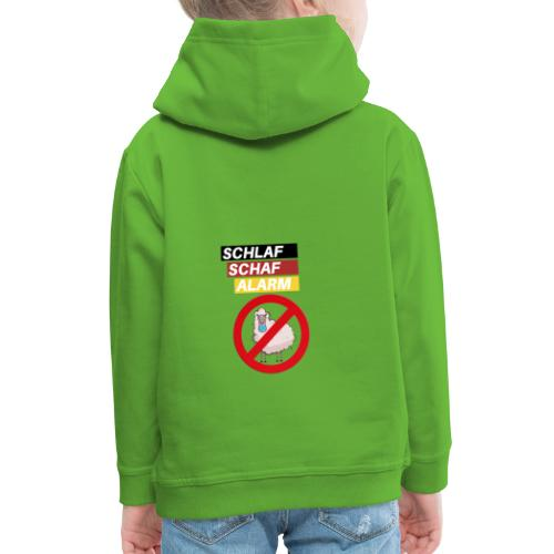 Schlaf-Schaf-Alarm - Kinder Premium Hoodie